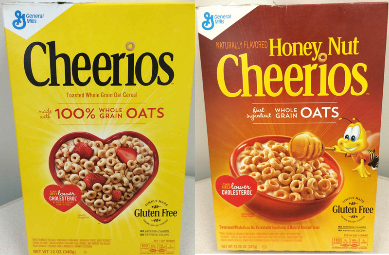 Is honey nut cheerios whole grain