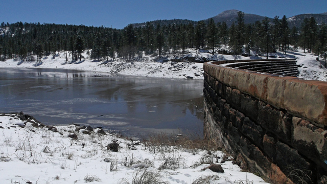 No impact apparent from recent storm in williams for Santa fe dam fishing
